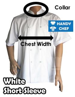 white short sleeve chart